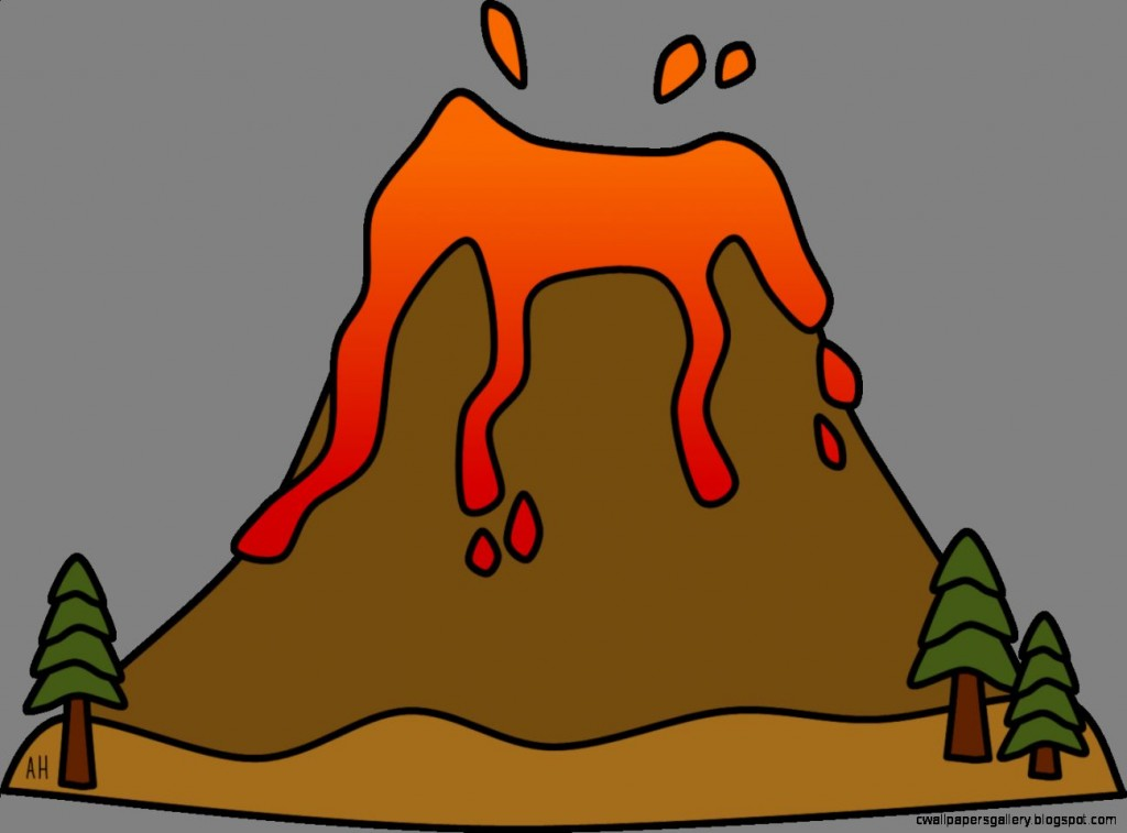 Volcano Clipart Wallpapers Gallery