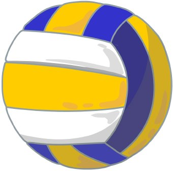 Volleyball Clip Art Sports Cleanclipart