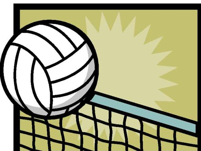 Volleyball Clipart Border Free Clipart Images