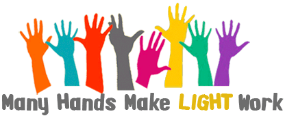 Volunteer Hands Up Clipart
