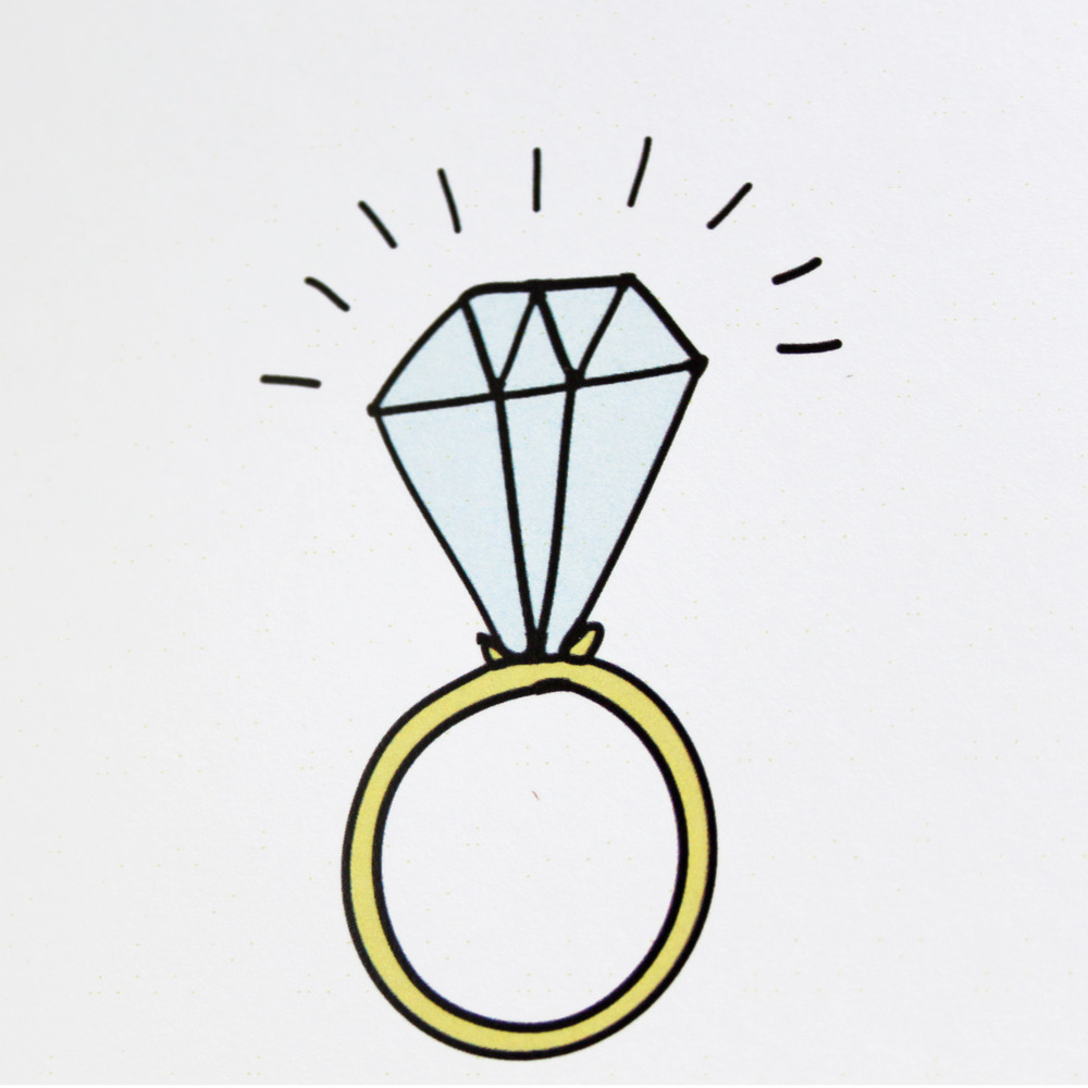 Best Engagement Ring Clipart #2840 - Clipartion.com
