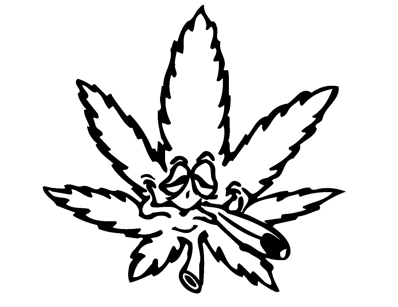 Best Weed Symbol 3015 Clipartion Com