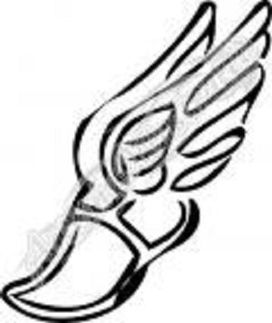 Winged Foot Track Shoe Tattoo Ideas Pinterest Track Shoes