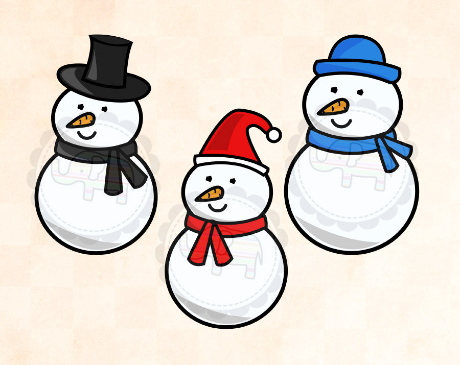 Snowman clipart clipartion