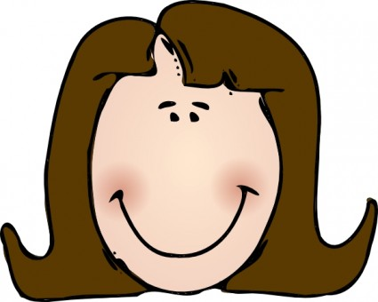 Woman Face Clip Art Free Free Vector For Free Download About