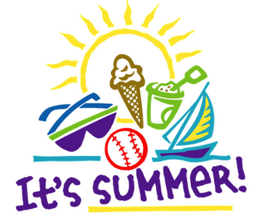 Workplace Summer Heat Clipart
