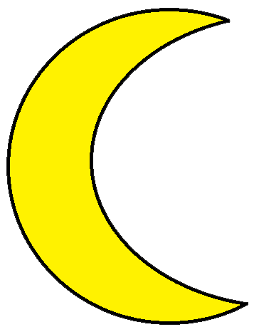 Yellow Moon Clipart Free Clipart Images