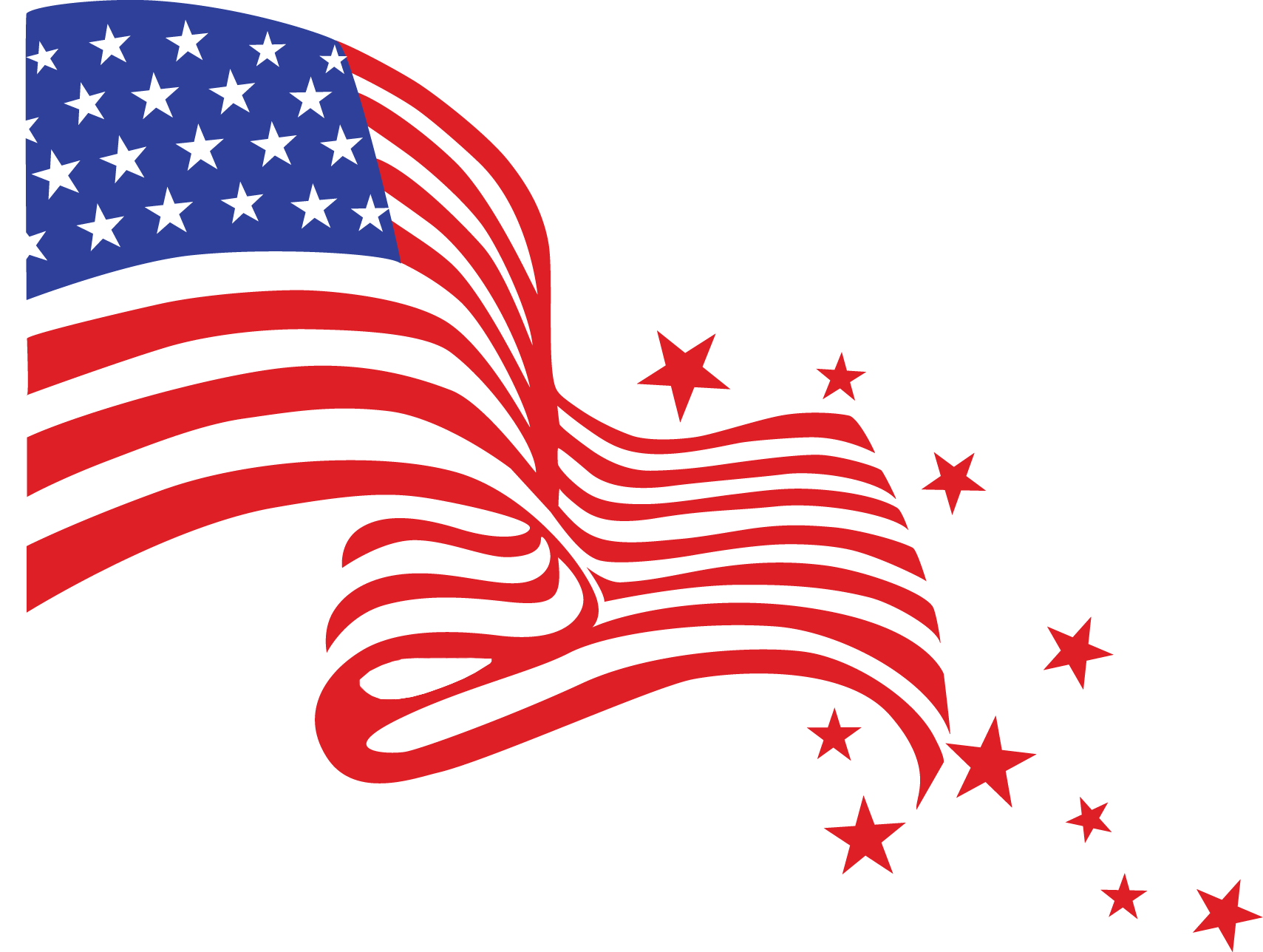 4th Of July Clipart 2 Png