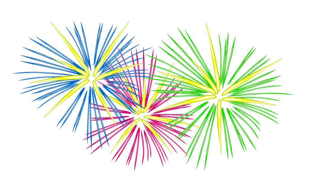 4th Of July Fireworks Clipart 2 Png