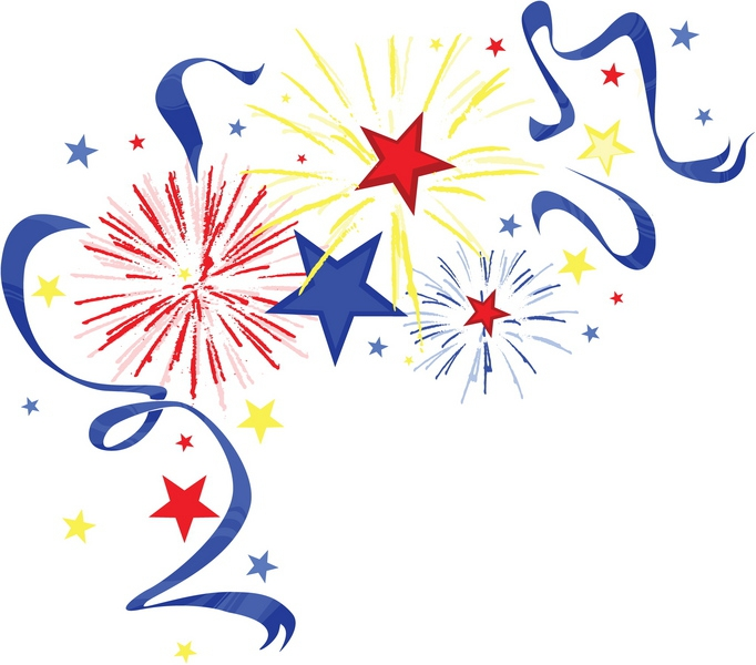 4th Of July Fireworks Clipart City Of Charlotte Michigan