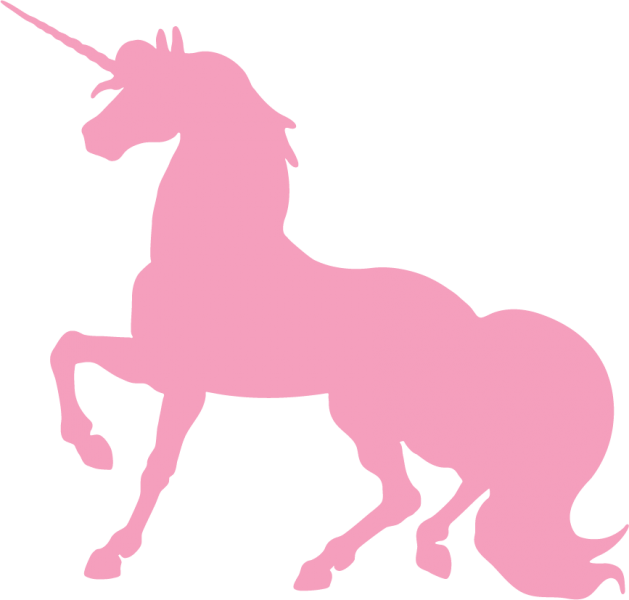 best unicorn silhouette  13063
