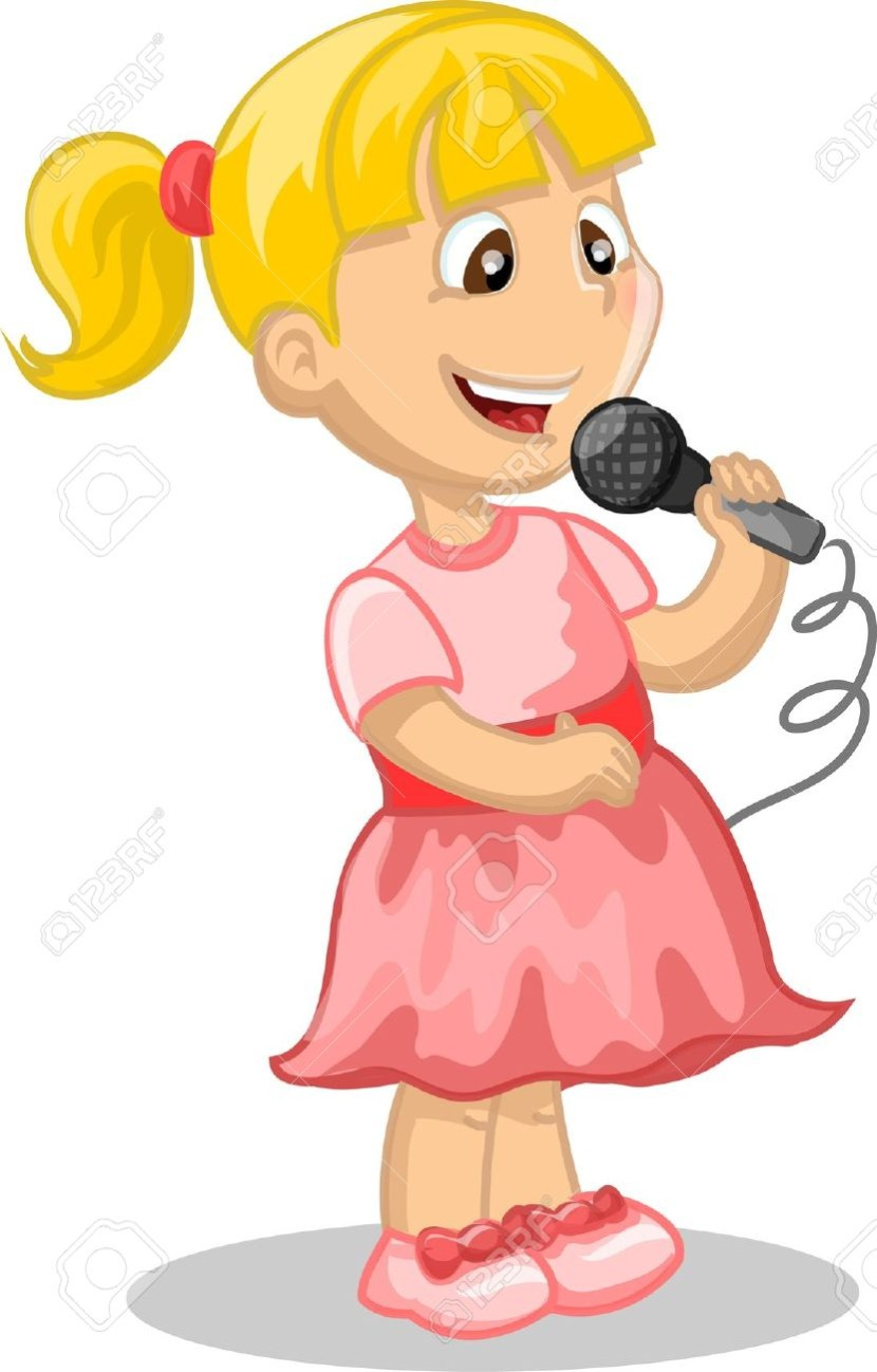 children singing clipart clipartioncom