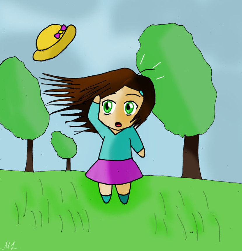 A Windy Day Mashil On Deviantart