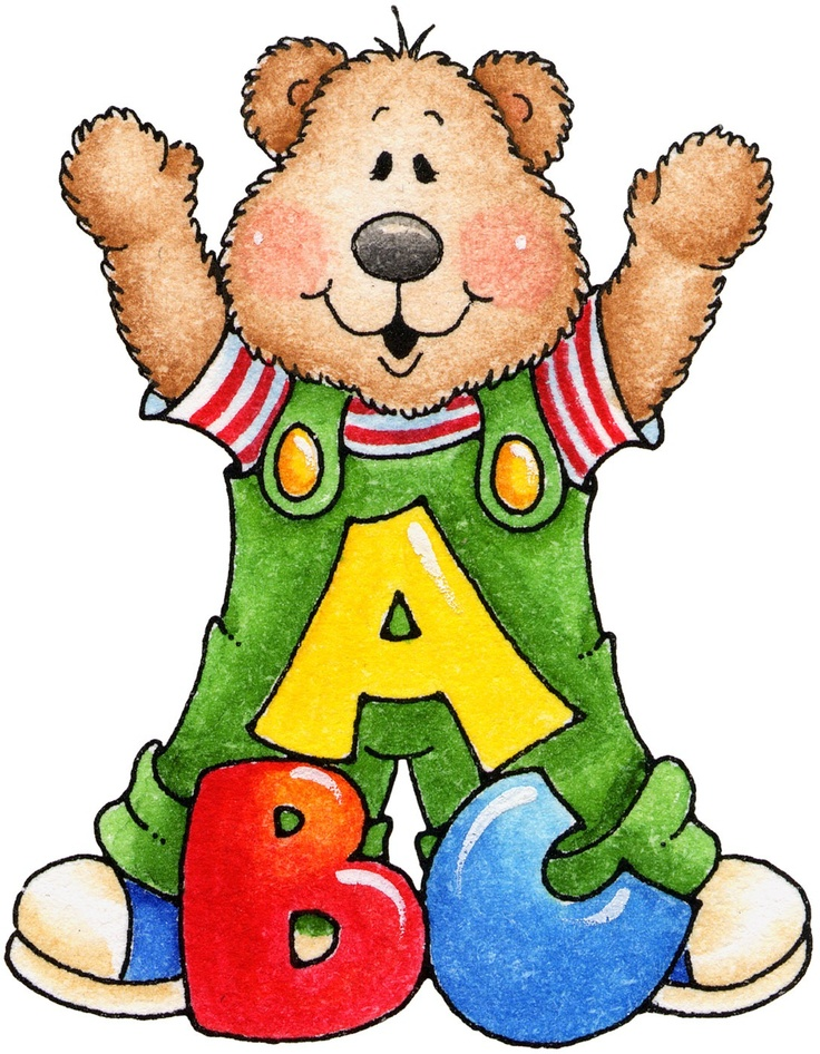 Abc Bear Clipart Pinterest Bears Teddy Bears And Letters