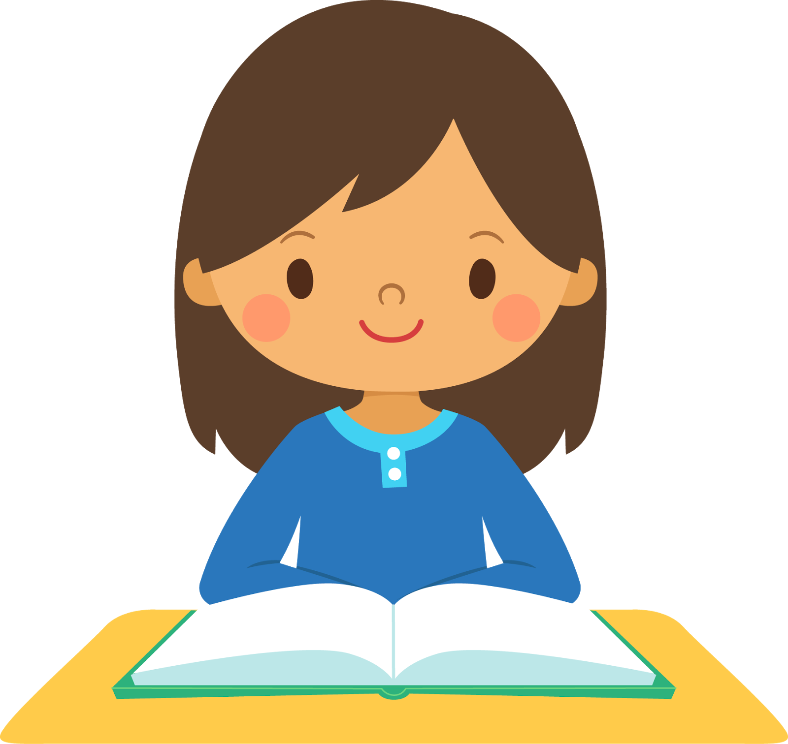 Best Girl Student Clipart #20340 - Clipartion.com