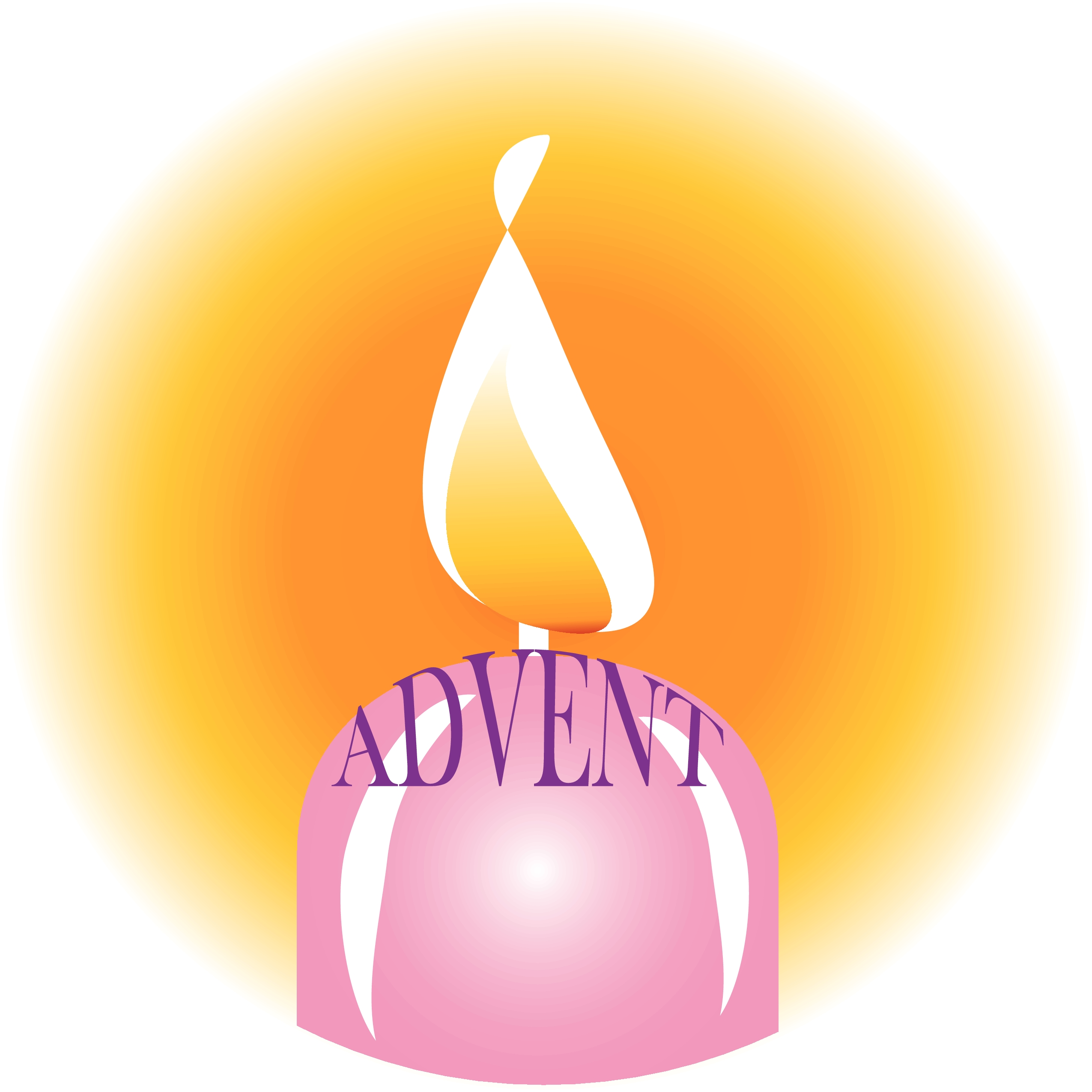 Advent Candle Frees That You Can Download To Clipart Free