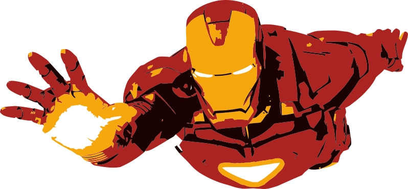 Best Iron Man Clip Art #6118 - Clipartion.com