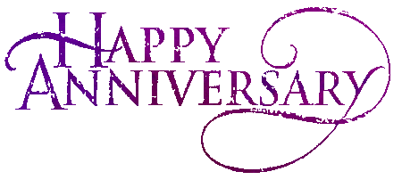 Animated Happy Anniversary Clip Art