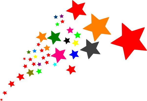 Animated Star Clip Art Shooting Star Clip Art Stars