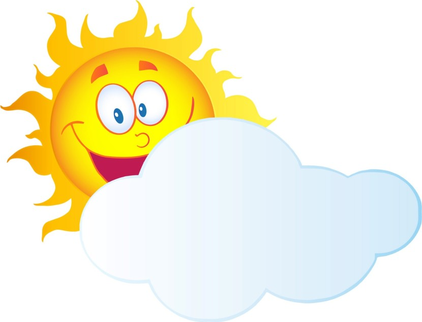 Animated Sun And Clouds Free Clipart Images