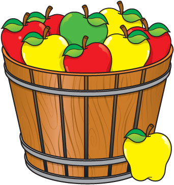 best apple basket clipart 21660 clipartioncom