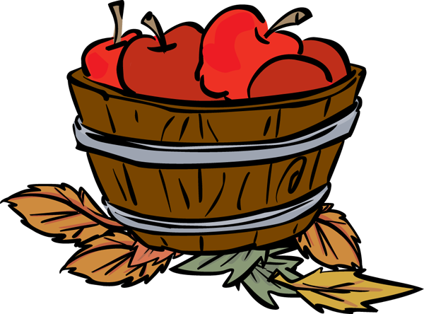 Apple Basket Clipart Free Clipart Images