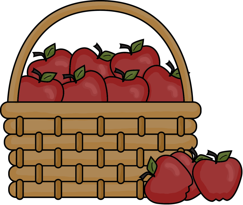 best apple basket clipart 21649 clipartioncom