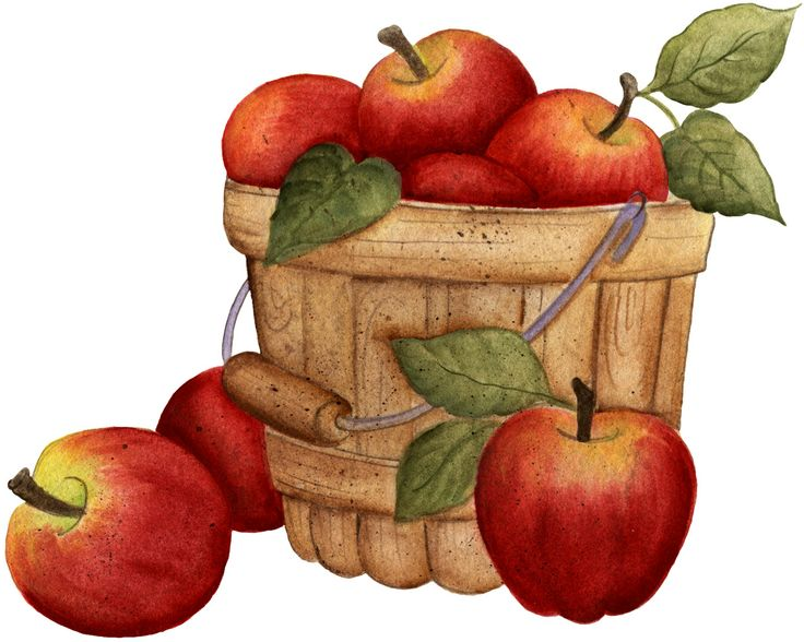 Best Apple Basket Clipart #21671 - Clipartion.com