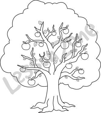 Tree Clipart Black And White Clipartion Com