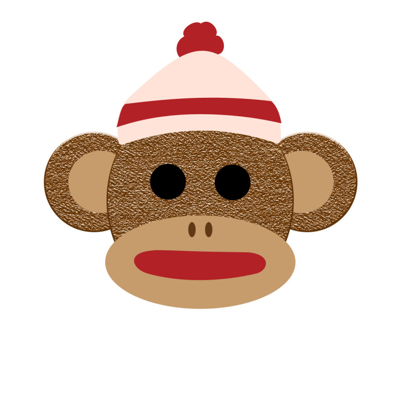 Applique Ideas On Pinterest Monkey Cartoon Monkey And Clip Art