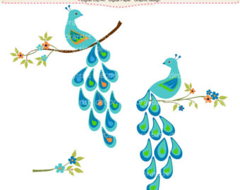 Art Deco Peacock Google Search Clipart Free Clip Art Images