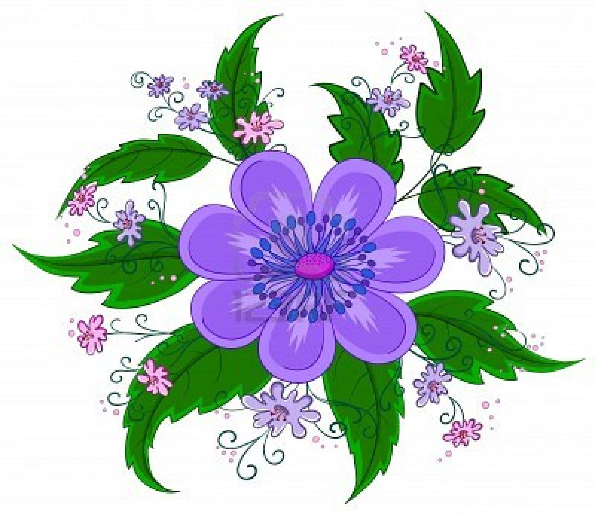 Art Of Flower clip art