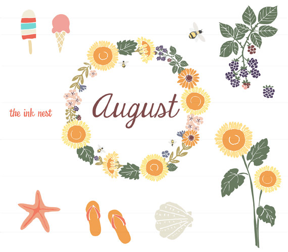 August Clipart Free Clip Art Images