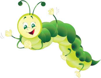 Baby Caterpillar Clip Art Vector Baby Caterpillar Graphics