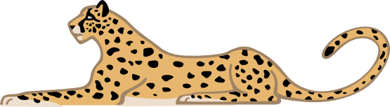 Baby Cheetah Clipart Free Clipart Images