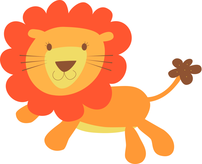Best Baby Lion Clipart #10503 - Clipartion.com