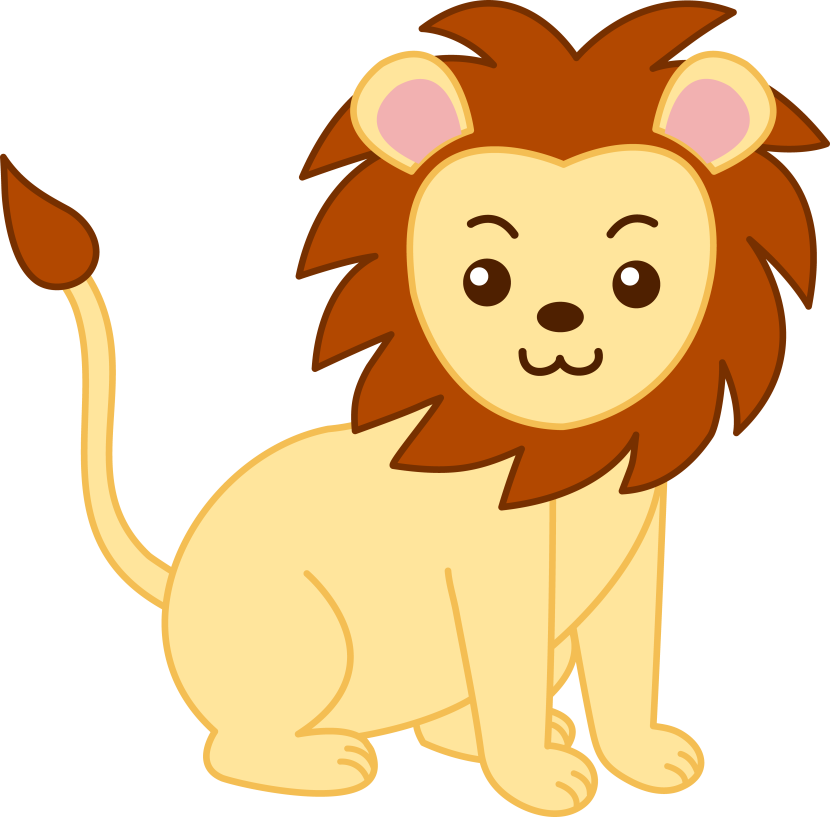 Baby Lion Clip Art Free Clipart Images