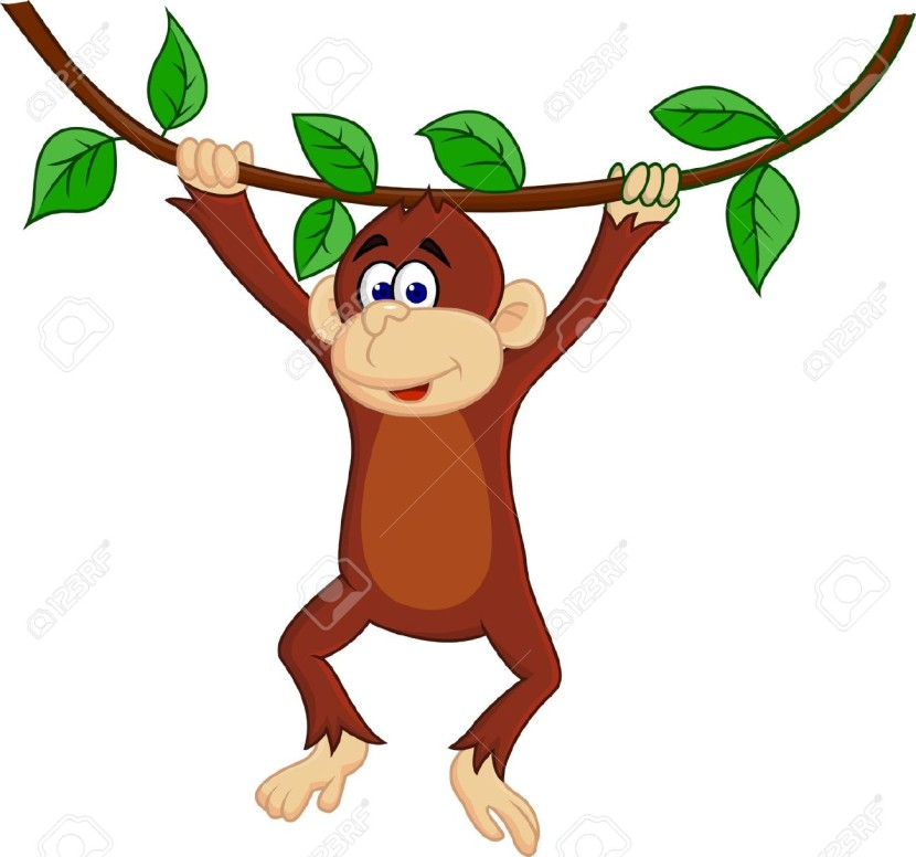 Baby Monkeys Stock Vector Illustration And Royalty Free Baby