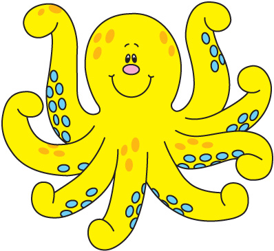 Baby Octopus Clipart Free Clipart Images