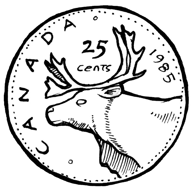 dime clipart black and white - photo #13