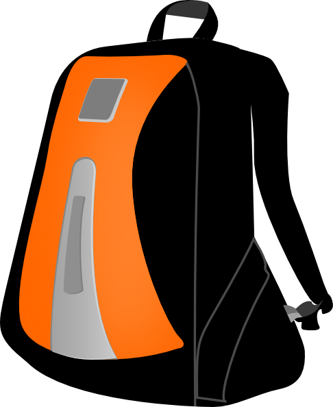 Backpack Clip Art At Vector Clip Art Online Royalty