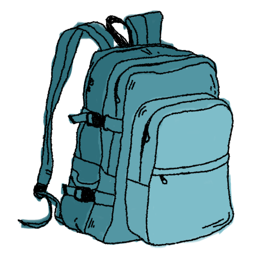 clipart rucksack - photo #7