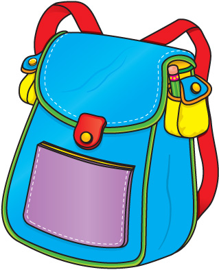 Backpack Clipart Free Clip Art Images