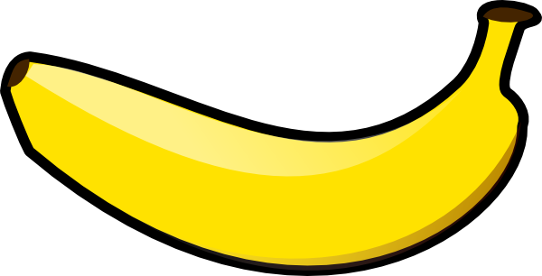 Banana Clipart Black And White Free Clipart Images