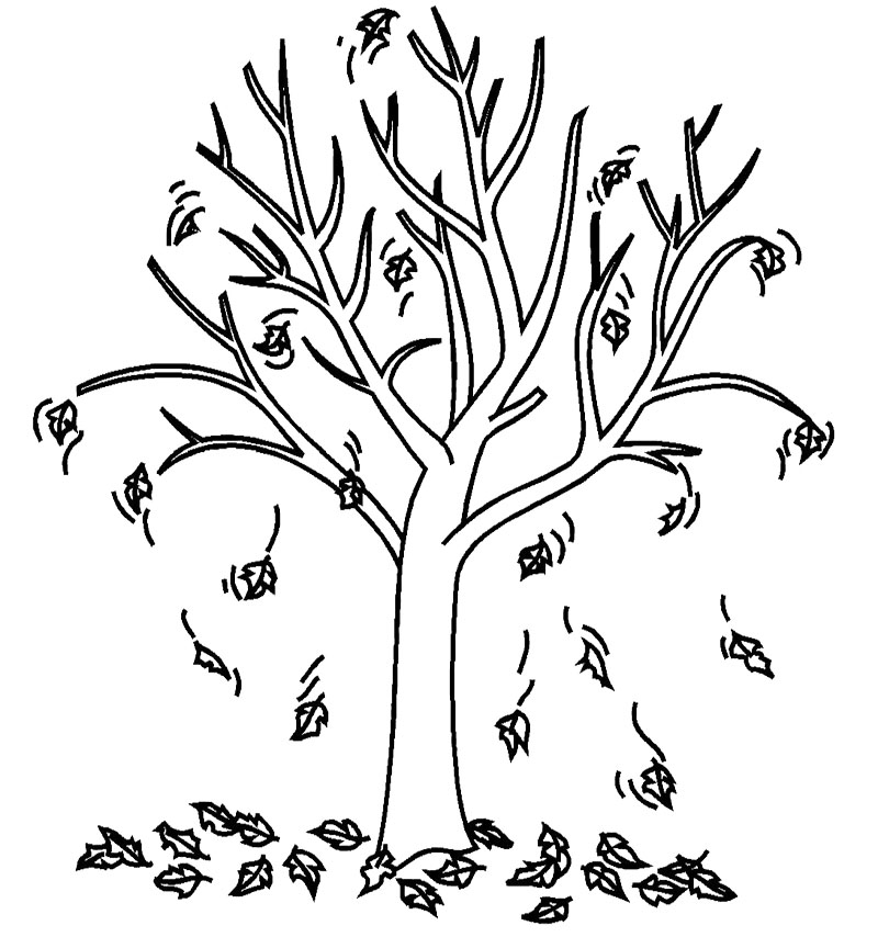 Best Fall Leaves Clip Art Black And White #21733 ...