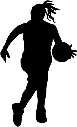 Basketball Clip Art Girls
