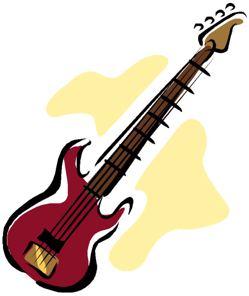Bass Guitar Clipart Free Clipart Images