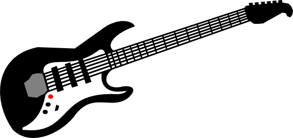 Bass Guitar Vector Free Clipart Images
