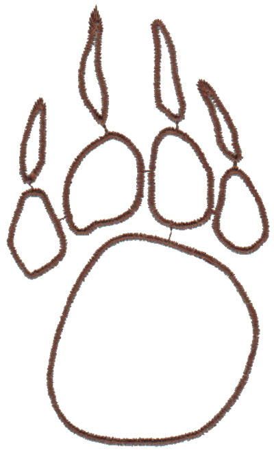 Bear Paw Outline