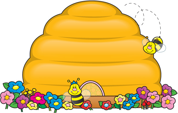 beehive clipart clipartion com Bees and Beehives Clip Art Bees and Beehives Clip Art